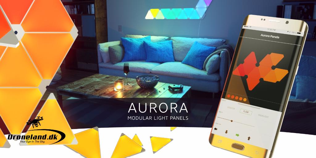 Aurora smarthome intelligent lyspanel