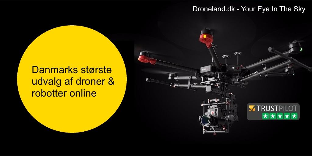 Køb droner med kamera til både hobbby brug og professionel brug