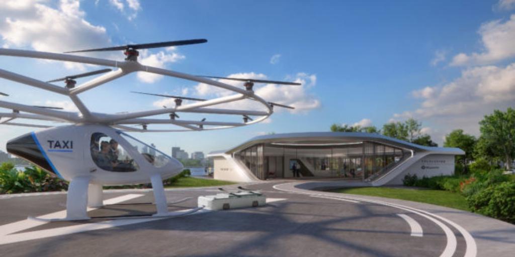 Volo-Port til drone taxier