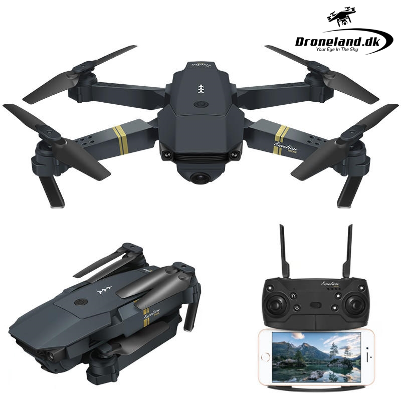 Køb Drone X Pro/ Eachine E58 drone med kamera