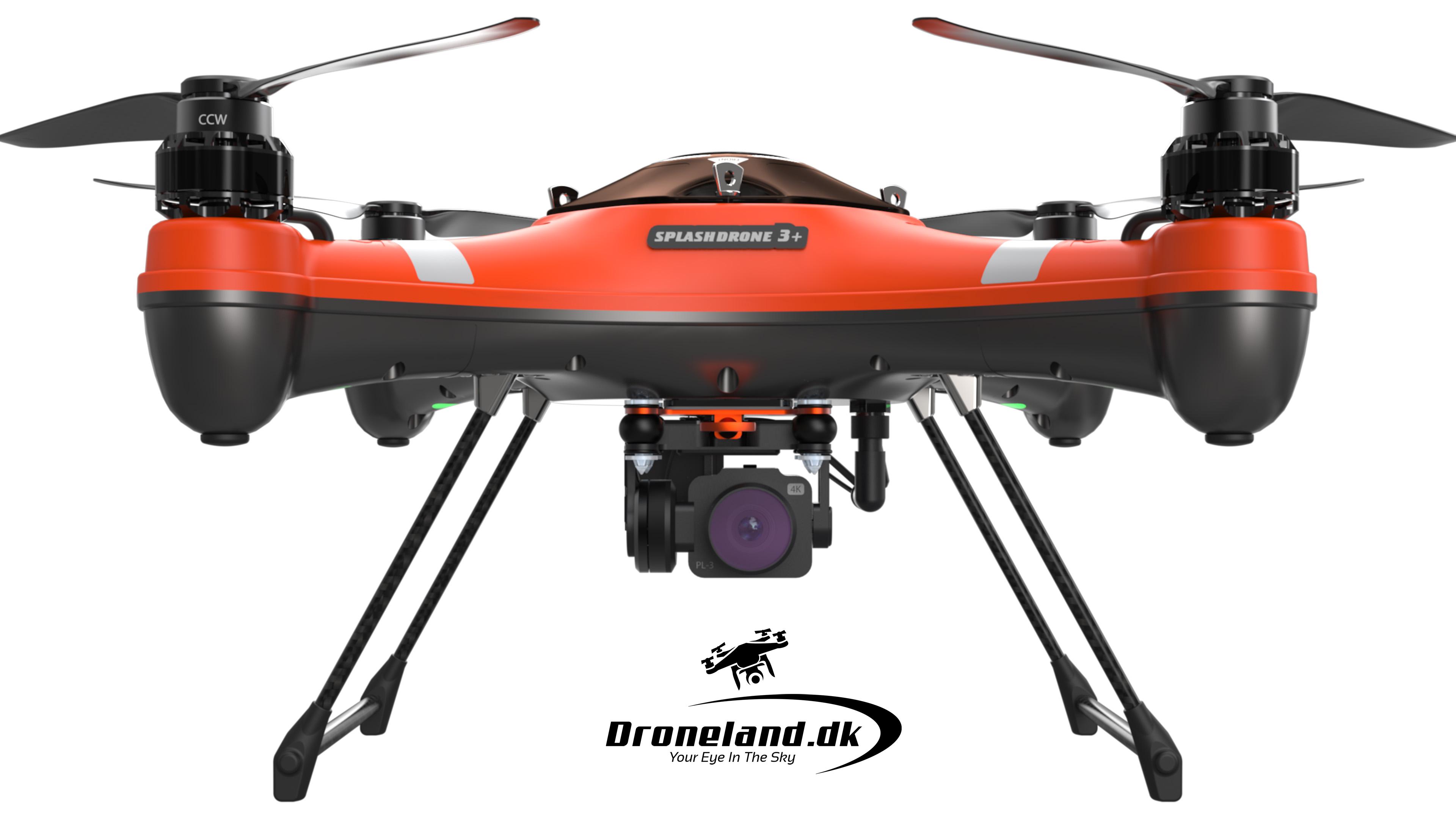 SplashDrone 3+ Plus Drone Med 4K kamera