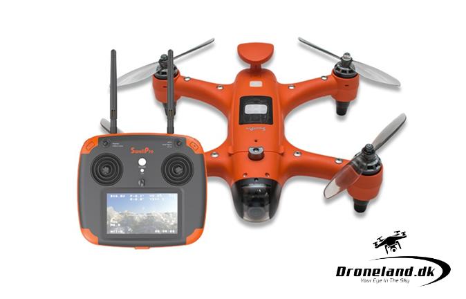 Spry vandtæt sports drone med 4K kamera