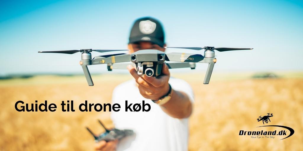Guide til drone køb og køb af de bedste droner med kamera