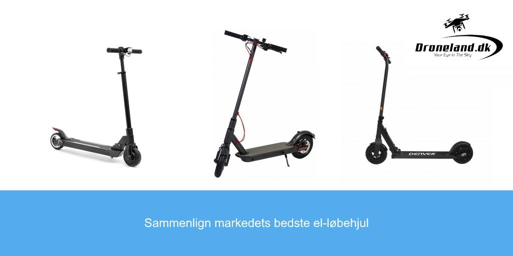Guide til de bedste el-løbehjul til de danske cykelstier