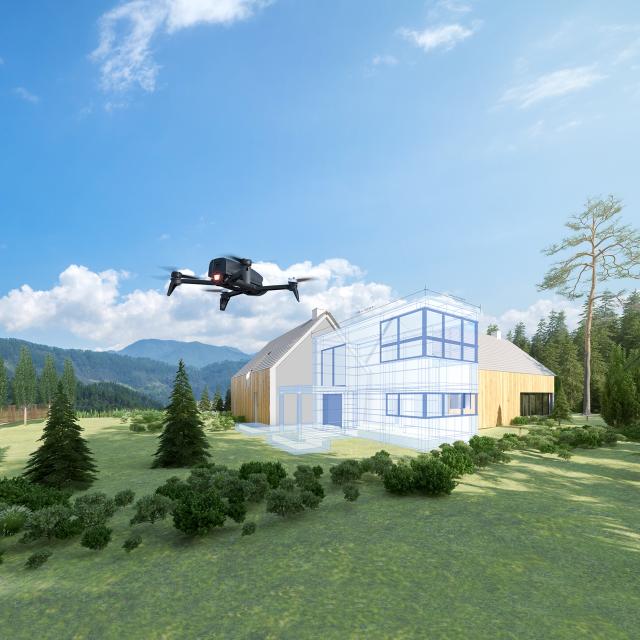 Parrot Bebop 2 Pro 3D Modeling - Professionel drone løsning til salg billigt online