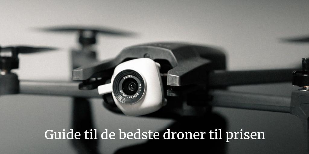 Bedste droner til prisen - drone guide