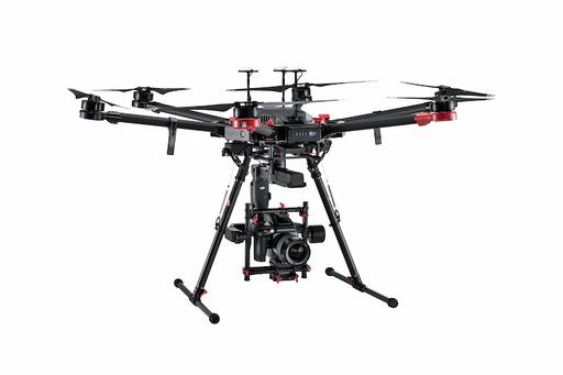 Professionelle droner med kamera - DJI Matrice 600 + Hasselblad kamera