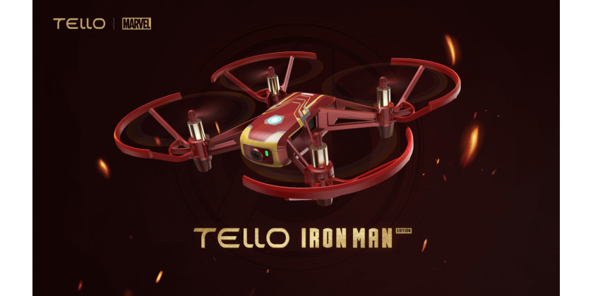 DJI, Ryze & Marvel lancerer Tello Iron Man Edition