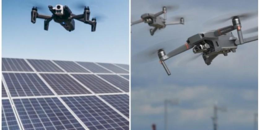 Guide til de bedste termiske droner: Sammenligning af DJI Mavic 2 Enterprise Dual og Parrot Anafi Thermal
