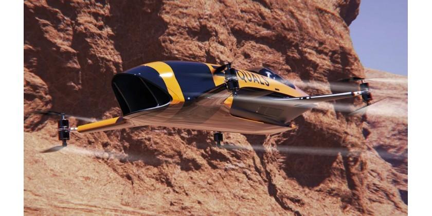 Airspeeder - flyvende bemandede racing droneløb bliver snart en realitet