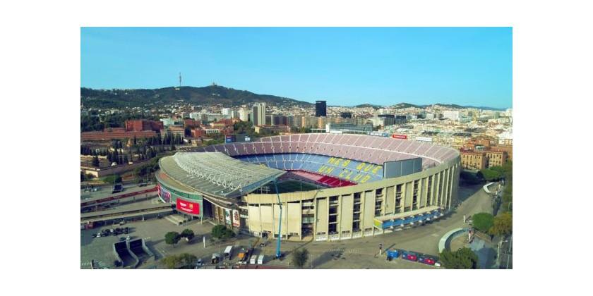 """Barcelona-Madrid-kampen var den første """"El Clásico"""" nogensinde, der inkluderede live drone-dækning"""