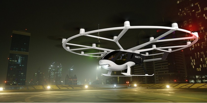 Markedet for drone taxier forudsiges at vokse til mere end 5,5 mia. kr. i de næste 8 år