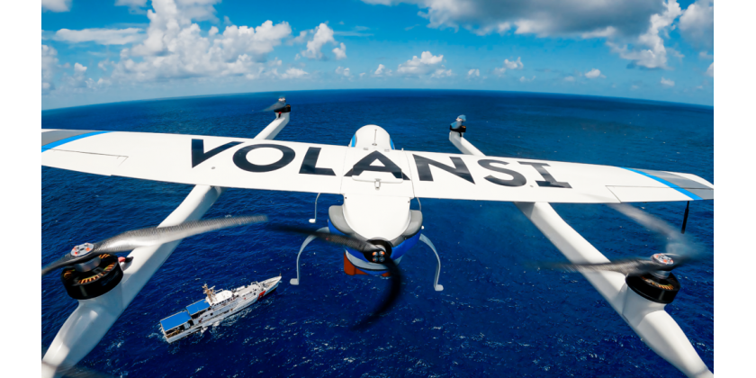 Volansi gennemfører første autonome mission indenfor maritime droneleveringer