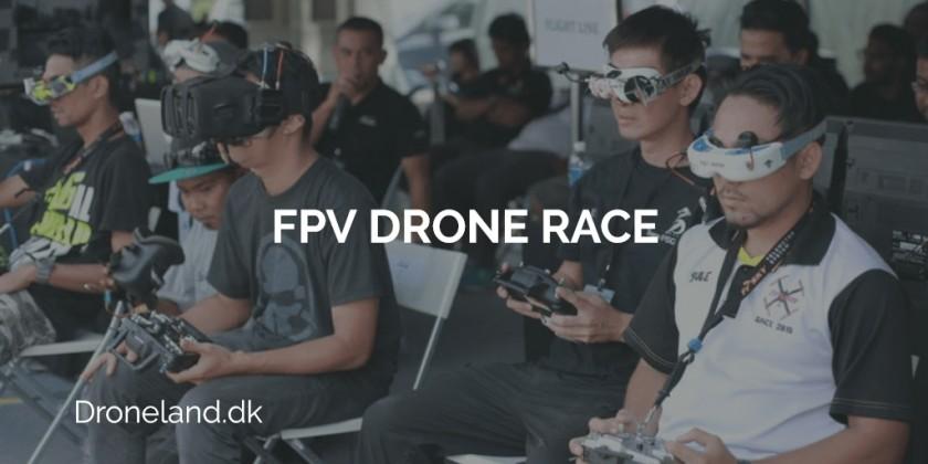Om Drone Race og Racer Droner Med Kamera